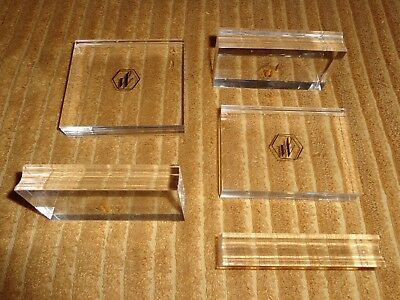 Waterman Vintage Set of Five Pen Stands Rests New Condition