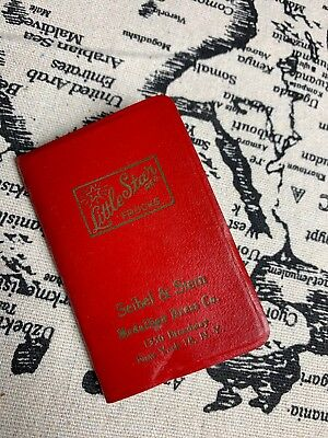 Vintage Birthdays and Anniversaries Reminder Address Book, Seine & Stern- Unused