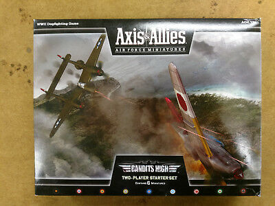 Axis And Allies Air Force Miniatures - Bandits High 2-Player Starter