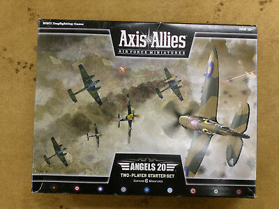 Axis And Allies Air Force Miniatures - Angels 20 Two-Player Starter