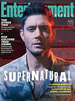 Supernatural Family Reunion Jensen Ackles Entertainment Weekly January 2019 Cv1