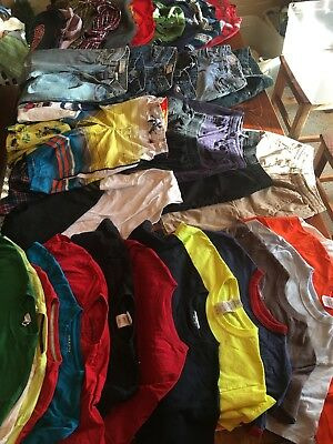 Mixed Lot Of Boys Clothes - Size 10/12 35+ Pieces