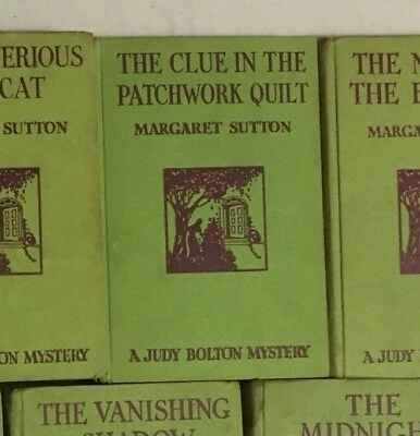 Three different titled books Judy Bolton Mystery By Margaret Sutton Hardcover