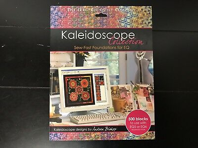 The Electric Quilt Company KALEIDOSCOPE Collection for EQ by Andrea Bishop