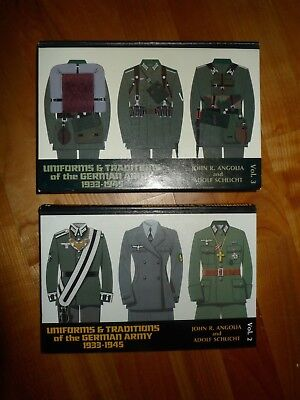 Angolia / Schlicht: Uniforms & Traditions of the German Army 1933-1945, Vol. 2+3