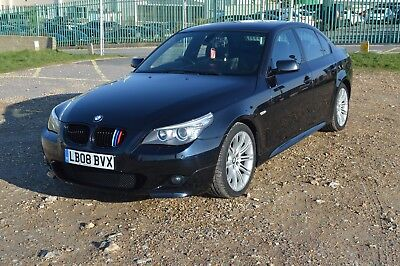 BMW 5-series 520d LCI M-SPORT 2008 perfect condition! 1-owner, low mileage!