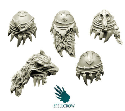 Wolves Cloaks BITS BITZ 28mm COMPATIBLE SPACE KNIGHTS CAPE PDT SPELLCROW Furry
