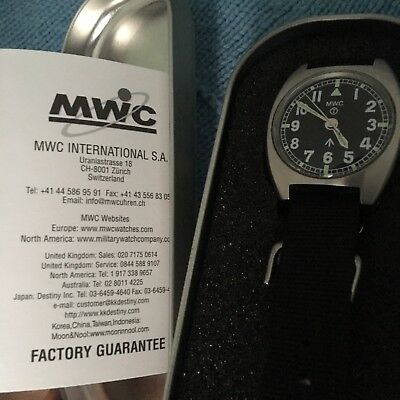 Unissued MWC W10 1970s Pattern 24 Jewel Automatic Military Watch (Slight Second)
