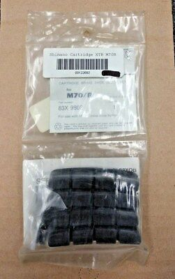 NOS Shimano M70/R Set of 4 Cantilever Brake Pad Inserts