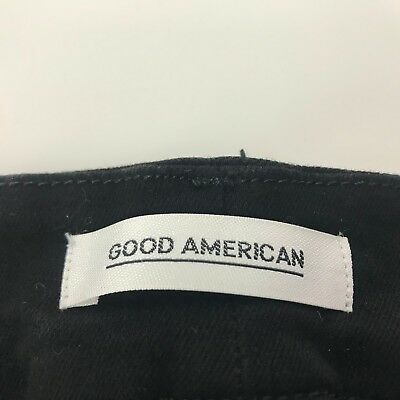Good American Good Legs Crop SIZE 18 BLACK  Clothing