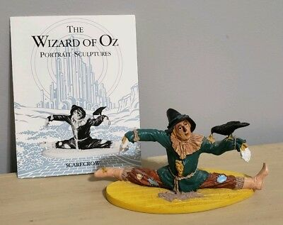 "Franklin Mint Wizard Of Oz Figure...."" Scarecrow "" With Card"