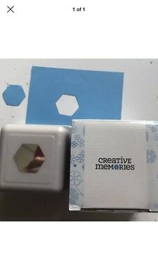 Creative Memories Place And Punch Hexagon