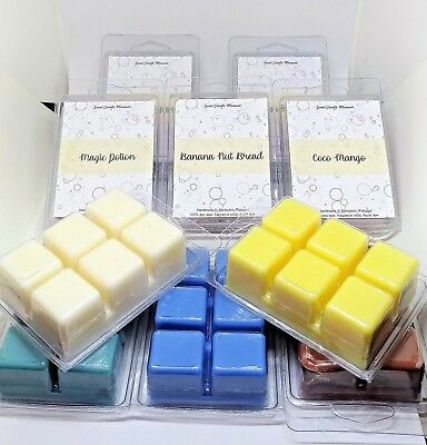 Wax Melts Scented Home Fragrance 32 Scents Soy Tarts Cubes   HIGH QUALITY