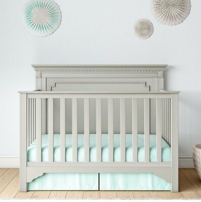 Baby Relax Edgemont 5-in-1 Gray Convertible Crib Toddler Bed Gray Retail 270 #2