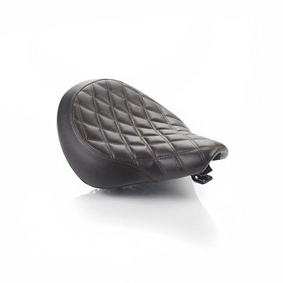 Triumph Motorcycle Rider Seat, Speedmaster, Quilted, Brown, A9700441