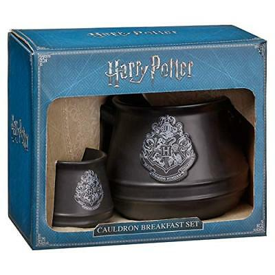 Harry Potter Wizard Cauldron Breakfast Set Tazza & Portauovo (q3O)