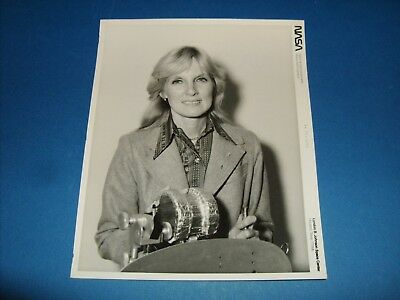 Nasa Astronaut Candidate Serial Numbered B&w Photo 1977