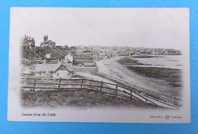 Dunbar from the Links - early 20th century - unposted