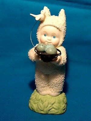 Vintage Easter Snowbunnies Precious Cargo, Child, Flying Bird & Nest – 2008