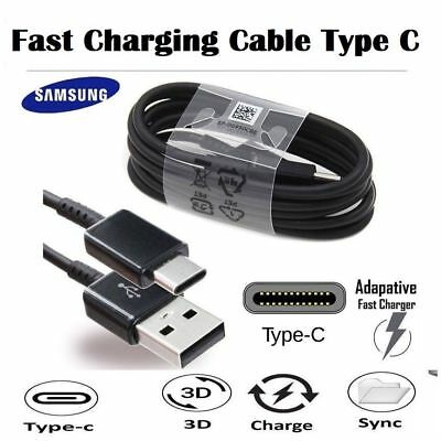 Fast Samsung Galaxy S8 / S9+ Plus Type C USB-C Sync Charger Charging Cable