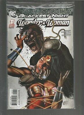Blackest Night Wonder Woman #1 2010 Horn VF/NM COMBINE SHIPPING