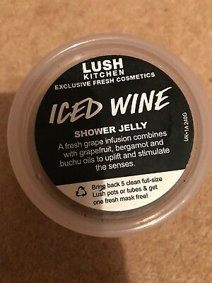 Lush Iced Wine shower jelly - unused - use by 26/1/17