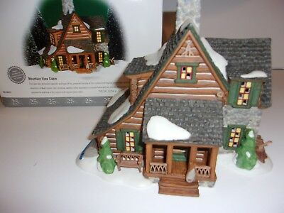 Dept 56 New England Village Mountain View Cabin
