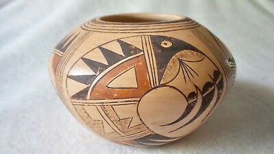 Native American Hopi Pottery Signed
