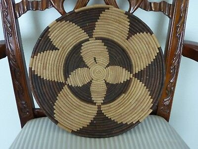 Early Native American Western Basket ~ Tray  ~ 12.5 Inch!!