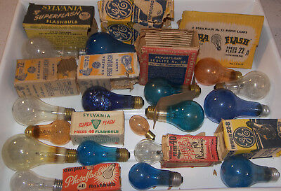A199: Vintage Flashbulb Collection
