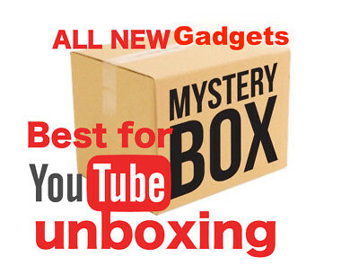 $100 Mysteries Box GADGETS for YOUTUBE UNBOXING Electronics All Brand New Items!