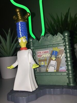 THE SIMPSONS Burger King Toy 2002 Bride Of Frank Marge Collectible Figure