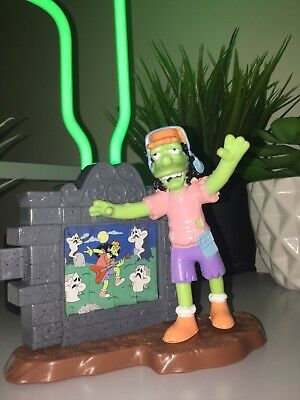 THE SIMPSONS Burger King Toy 2002 Zombie Otto Halloween Collectible Figure