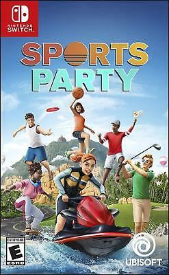 Sports Party (Nintendo Switch); NEW! Ships FREE Daily USPS First Class Mail!