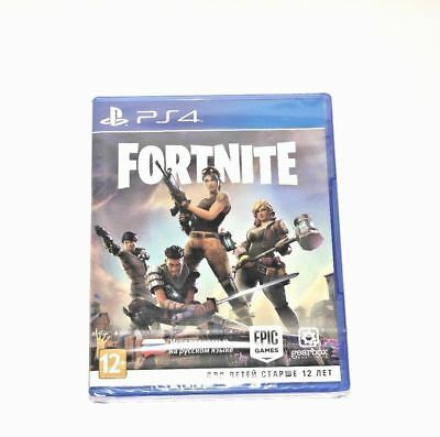 NEW Fortnite PS4 Physical Game Disk