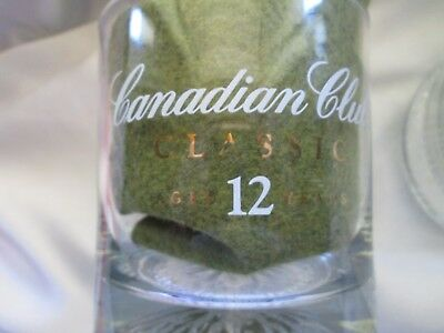 Canadian Club Classic Aged 12 Years Rocks Glasses Set of 4