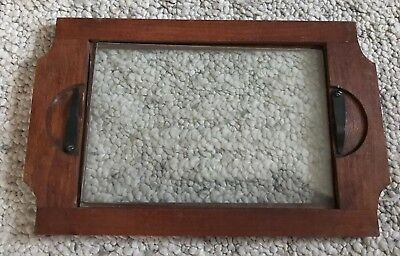 Vintage Unmarked Glass Negative Print Slide Holder Viewer