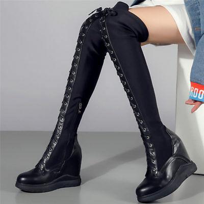 9c52bc2e0a8 PEERAGE WOMEN'S THIGH High Wide Width Faux Leather Boots - $80.00 ...