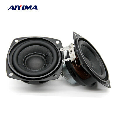 "3/"" inch 4Ohm 4Ω 10W Round Full Range Audio Speaker Loudspeaker Horn Home CYCA"
