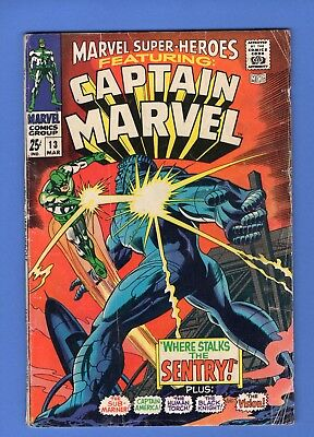 Marvel Super-Heroes 13 1st Carol Danvers Captain Marvel Movie Hot