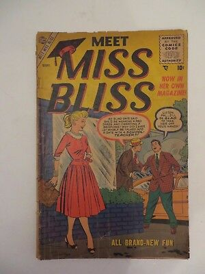 1955 Leading Magazine Meet Miss Bliss Vol 1 No.3  Free Shipping