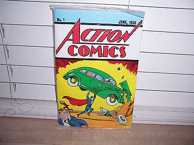 DC Comics Action Comics #1 June 1938 Superman Loot Crate Exclusive Reprint W/COA