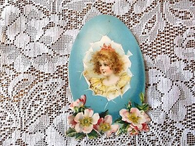 Antique Easter Card, dated 1912     (Lot #19)