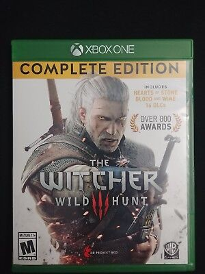 Witcher 3: Wild Hunt, Complete Edition (Microsoft Xbox One, 2016) (USED)