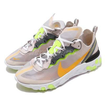 f295faec760 Nike React Element 87 Orewood Brown Orange Mens Running Shoes AQ1090-101