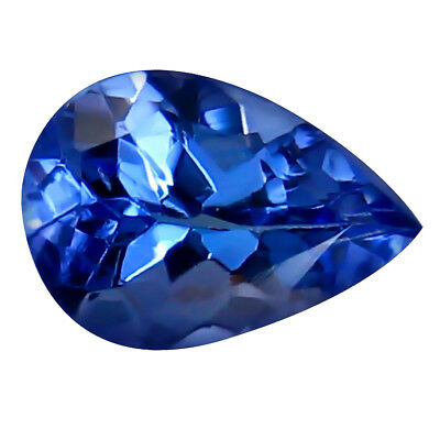 0.75 ct FLAWLESS SPARK RARE NATURAL BEST BLUISH TANZANITE EARTH MINED