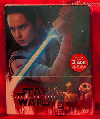 Star Wars: The Last Jedi Limited Steelbook (Blu-ray 3D + blu-ray + Bonus)