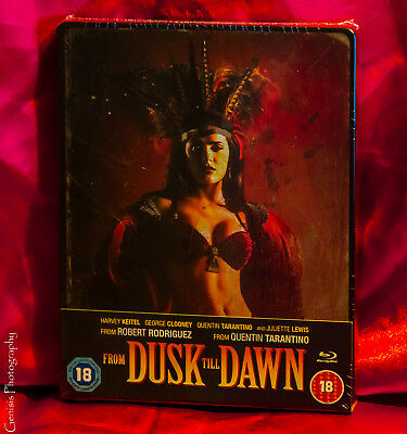 From Dusk Till Dawn Zavvi (Gb) Exclusivo Caja Metálica Blu-Ray Nuevo Raro