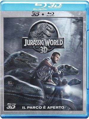 Jurassic World 3D (3D + 2D Blu-Ray, 2 Discs) Nuevo/Sellado
