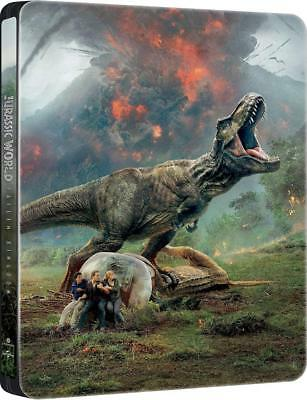 Jurassic World: Fallen Kingdom Caja Metálica Blu-Ray - Region Free